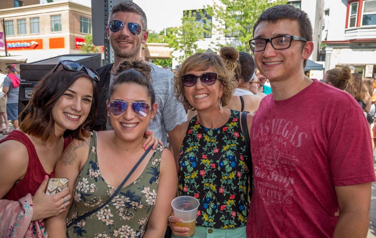 Smiling faces at the 2017 Thin Man Summer Solstice Festival, which returns for another year this summer. (Don Nieman/Special to The News)