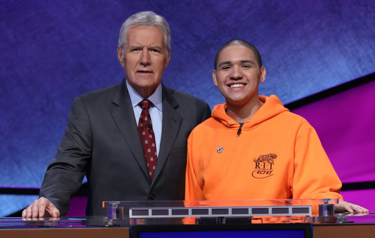Sheldon Lewis II, a recent graduate of Frederick Law Olmsted, appeared on the popular game show  'Jeopardy!' (Photo courtesy of 'Jeopardy!')