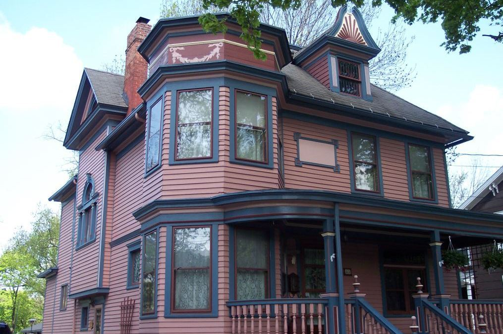 The restored John P. Sommers home in Lancaster. (Photo courtesy Sherry Campbell and Brian Lewandowski)