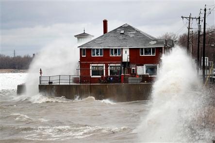 High winds deliver destruction, flooding across Western New York