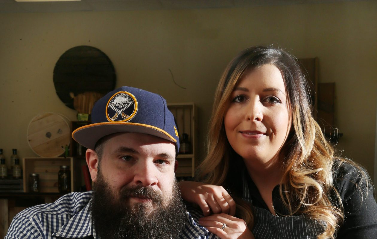 Barrel + Brine has outgrown its 257 Carolina St. location, and owners RJ and Lindsey Marvin are planning to move to a bigger Black Rock location. (Sharon Cantillon/Buffalo News)