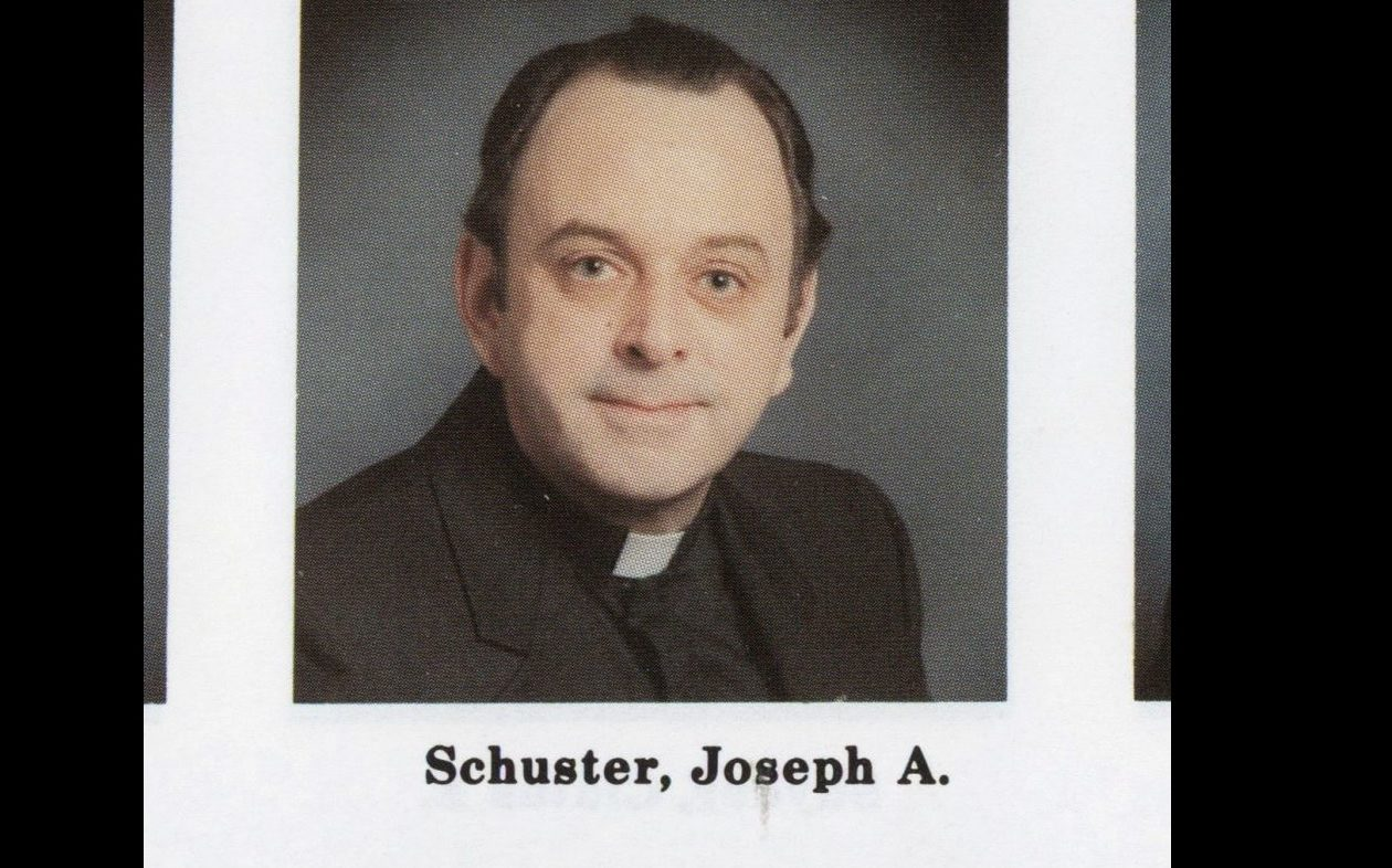 Rev. Joseph A. Schuster (Catholic Diocese of Buffalo's 1983 Priests' Pictorial Directory)