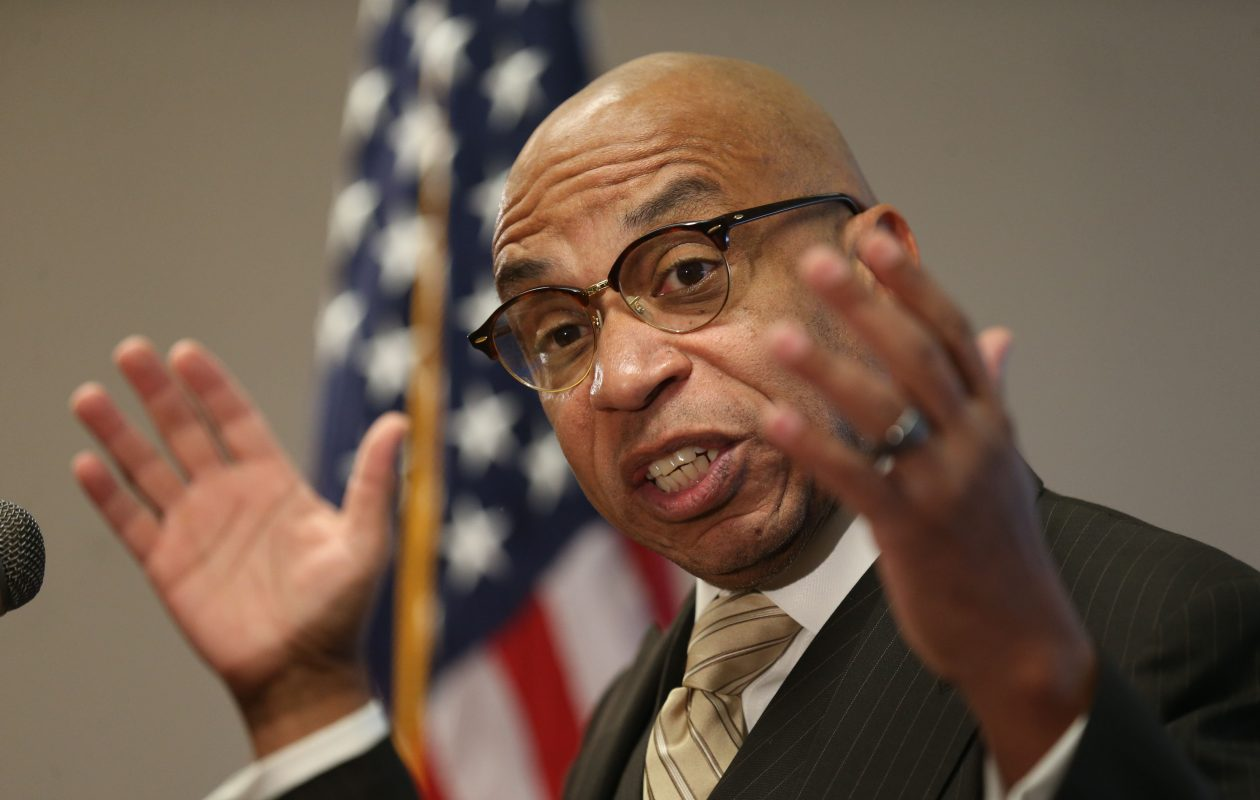 """Common Council President Darius G. Pridgen says city costs are increasing and there may need to be """"an alignment"""" of taxes and fees in the new budget to keep pace. (Sharon Cantillon/Buffalo News file photo)"""