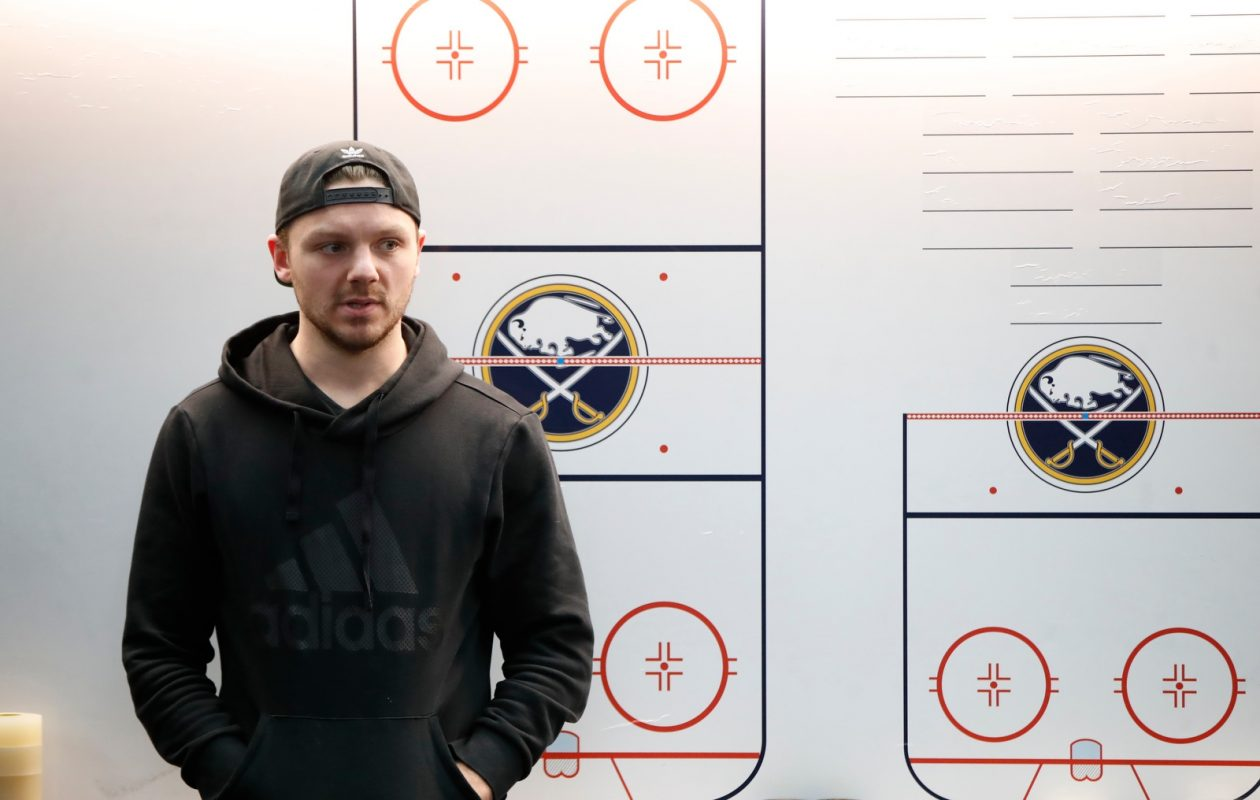 If the Sabres want to improve their team speed, could they trade Sam Reinhart? (Harry Scull Jr./Buffalo News)