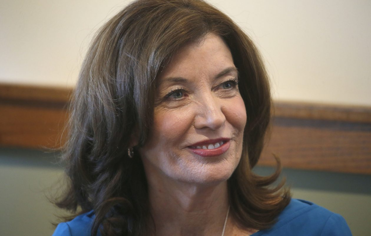 Lieutenant Governor Kathy Hochul  will learn her fate at the Democratic State Convention (or shortly before) following the Cuomo forces' half-baked effort to dump her from the statewide ticket in exchange for facing Rep. Chris Collins. (Robert Kirkham/Buffalo News)