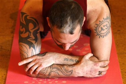 Yoga classes are among the offerings at Turning Point House, an addictions recovery center for men in the Southtowns.