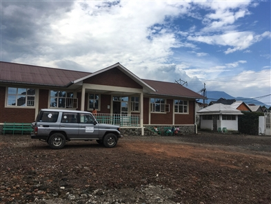 A team of medical professionals led by Dr. Myron Glick, founder of Jericho Road Ministries, traveled to the Wellness Center in Goma, Democratic Republic of Congo, a clinic operated by locals with funding and training from Jericho Road Community Health Center.