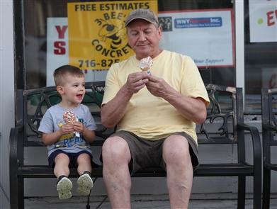 Abbott Ice Cream, at 381 Abbott Road in South Buffalo, opened May 2.