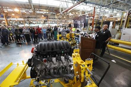 General Motors announced Monday, May 21, 2018 that its Tonawanda Engine Plant will build a new line of fuel-efficient engines for the 2019 Chevrolet Silverado pickup trucks.