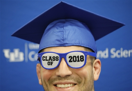 Commencement 2018 at the University at Buffalo.