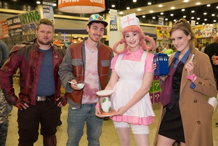 From Hulk Hogan to Boba Fett to Jon Heder of 'Napoleon Dynamite,' the celebrities were out at Nickel City Con on Saturday, May 19, 2018 - Day 2 of the event, which concludes Sunday in the Buffalo Niagara Convention Center.
