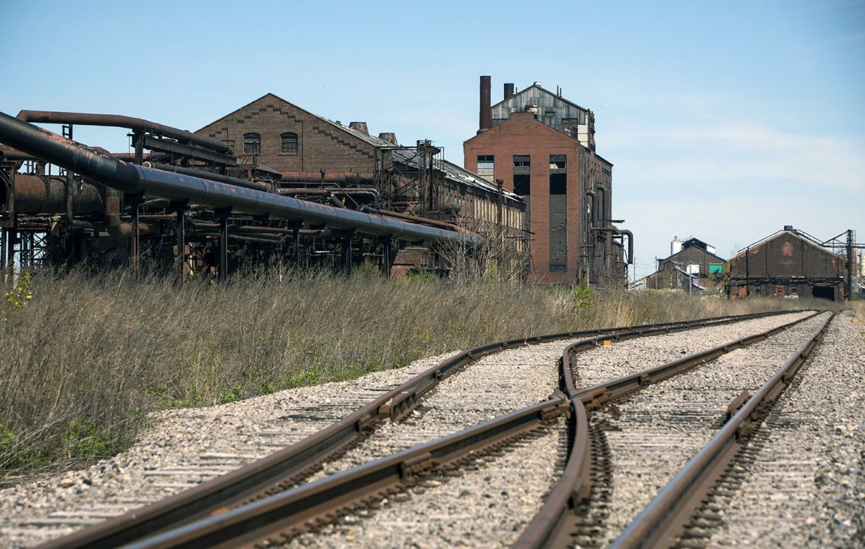 Former industrial properties in Lackawanna — such as the Bethlehem Steel site — are among the 514 opportunity zones identified in New York.  (Derek Gee/News file photo)