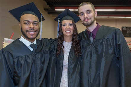 It was a day of celebration in the Koessler Athletic Center of Canisius College, where undergraduate students prepared to receive their diplomas on Saturday, May 19, 2018. See who was all Smiles.