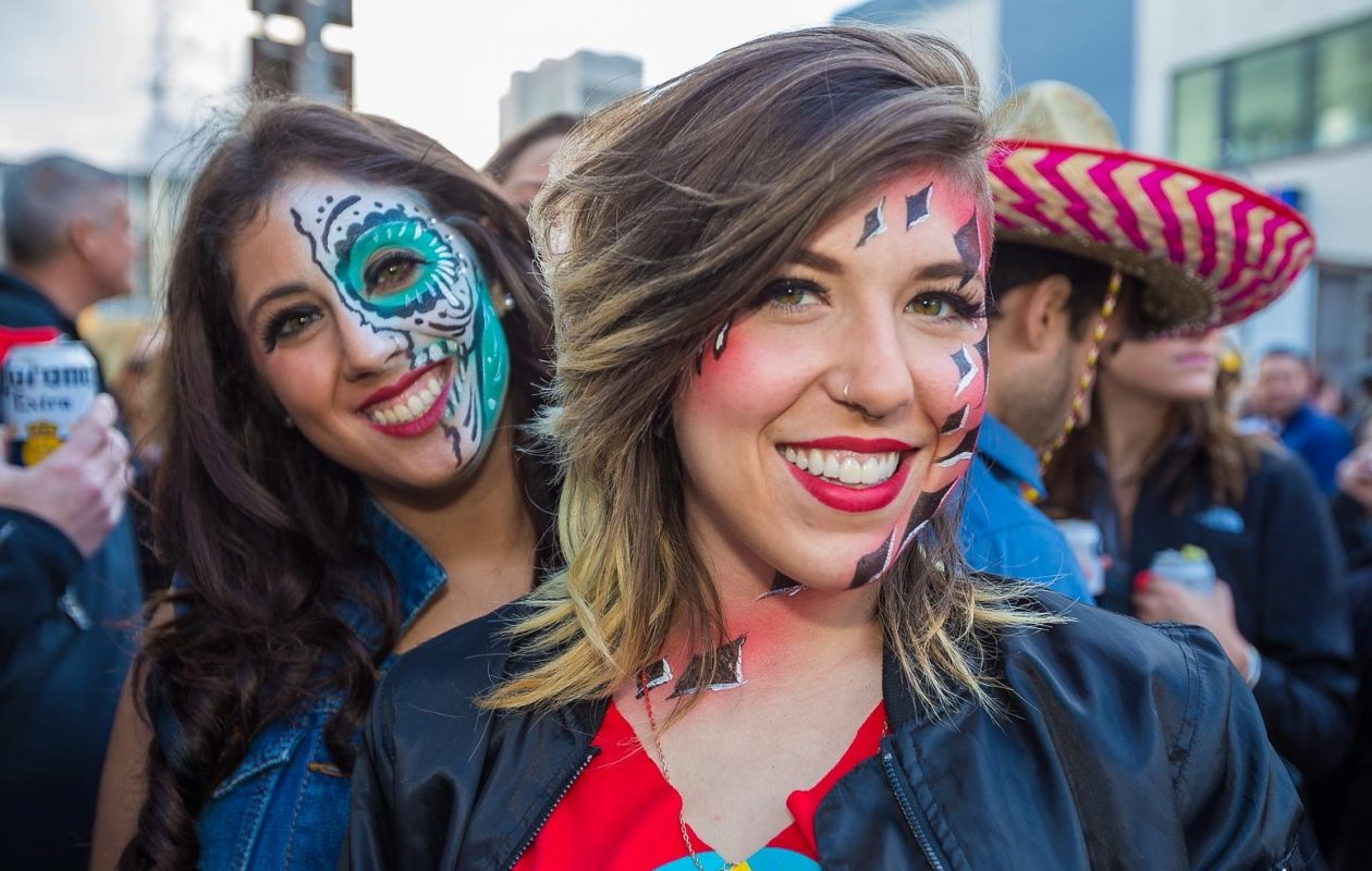 Smiling faces at the 2016 Cinco de Mayo party by Deep South Taco, which will be celebrated at all three of DST's locations in 2018. (Don Nieman/Special to The News)