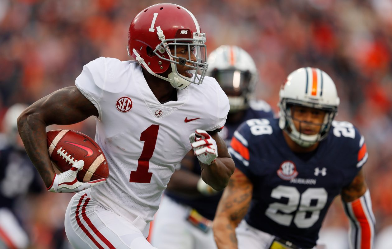 Former Alabama receiver Robert Foster signed with the Bills as an undrafted free agent. (Getty Images)
