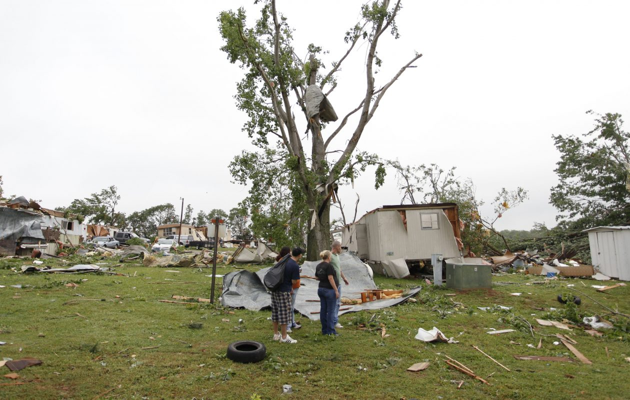 May 10, 2010, was a fateful day for tornadoes in Oklahoma. (Brett Deering/Getty Images file photo)