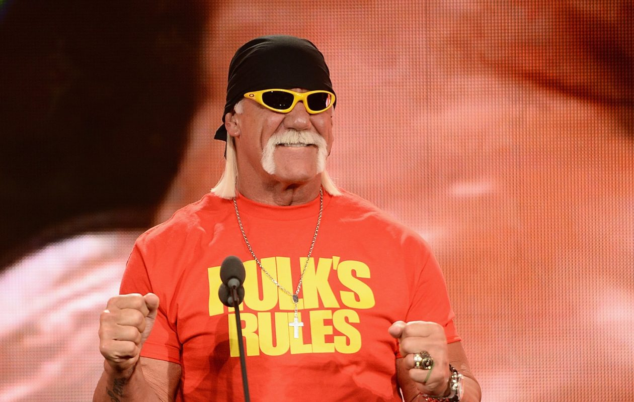 Hulk Hogan will appear May 19 at Nickel City Con. (Getty Images)