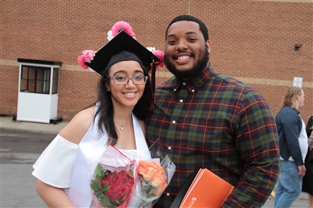 SUNY Buffalo State hosted its second of two undergraduate graduation ceremonies at 1 p.m. Saturday, May 19, 2018. See the graduates preparing with their caps and gowns.