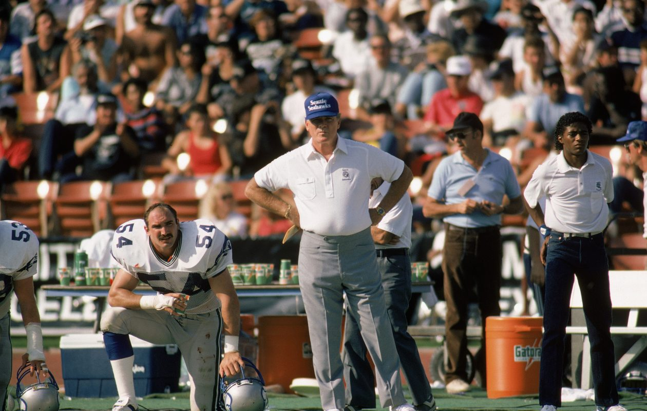 Chuck Knox went to Seattle after coaching the Bills. (Getty Images)
