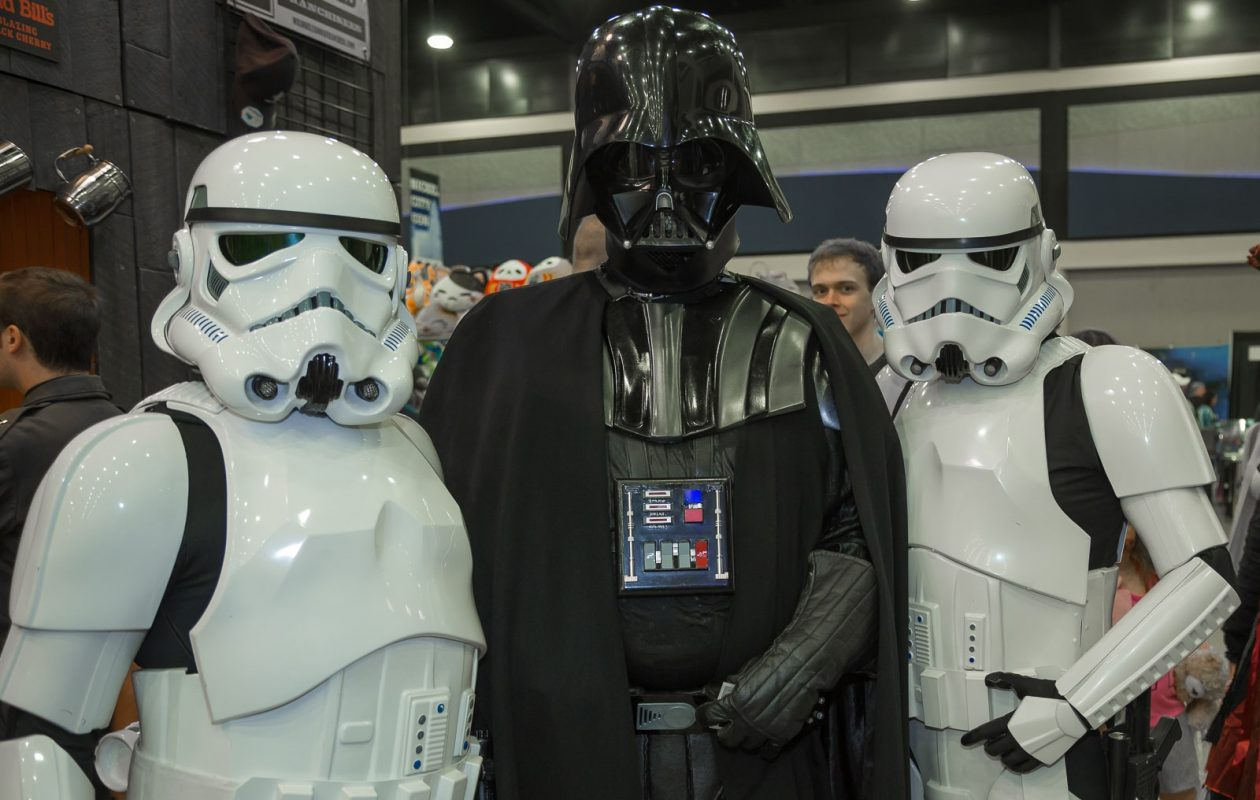 You never know who you'll see at Nickel City Con. (Don Nieman/Special to The News)