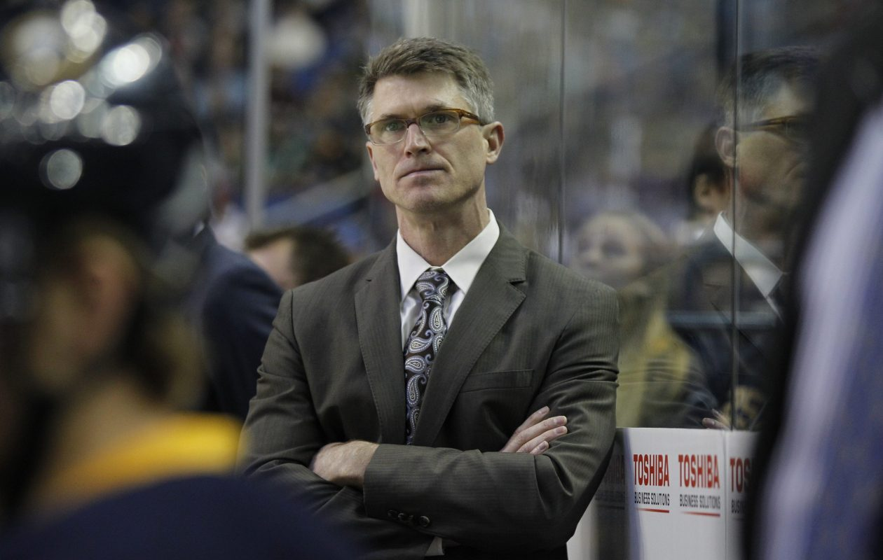 Ron Rolston coached the Sabres for 51 games over parts of two seasons in 2013. (Harry Scull Jr./Buffalo News file photo)
