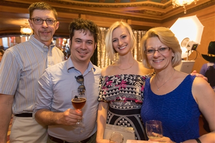 See who attended the 23rd annual Wine, Food & Beer Festival to support Shea's on Thursday, May 17, 2018. Local vendors with products in the three featured areas set up inside Shea's Buffalo Theatre.