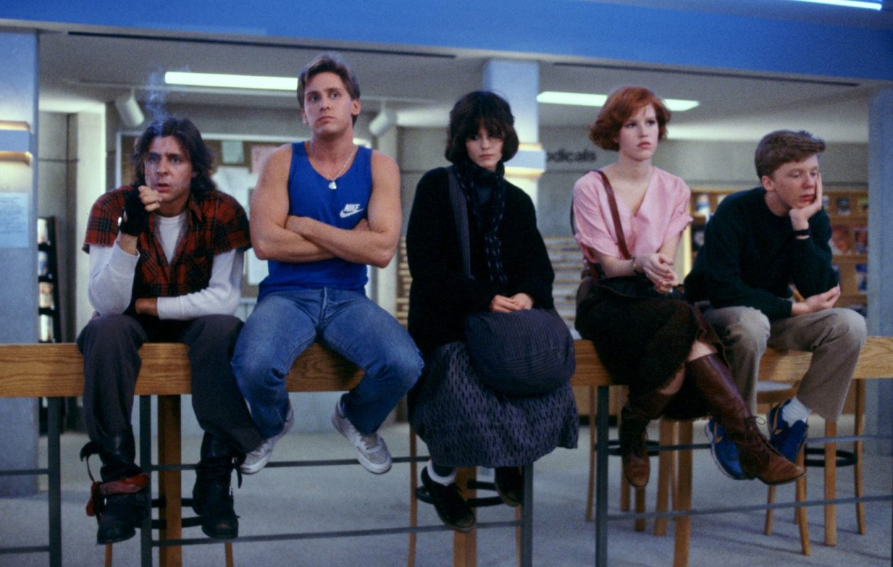 'The Breakfast Club' is one of two retro movies that the Transit Drive-In will show. (Photo courtesy of Universal)