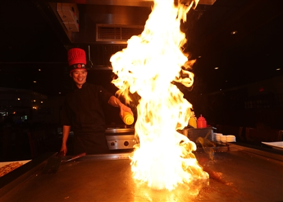 Kyoto Japanese Restaurant Hibachi & Sushi Bar is at 4060 Maple Road in Amherst.