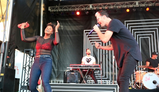 Fitz & The Tantrums and Mikky Ekko perform at Canalside on Thursday, June 14, 2018.