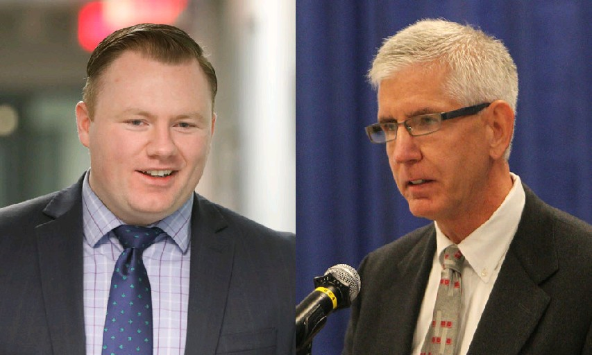 Only two Erie County legislators, Patrick Burke, left, and Thomas Loughran have called for the dissolution of the Erie County Water Authority. The others need to speak up. (News file photos)