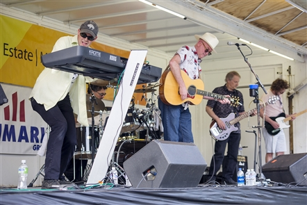 Tom Stahl and the Dangerfields performed in the first of this summer's Elmwood Village Picnic in the Parkway Summer Concert Series Tuesday, June 19, 2018.