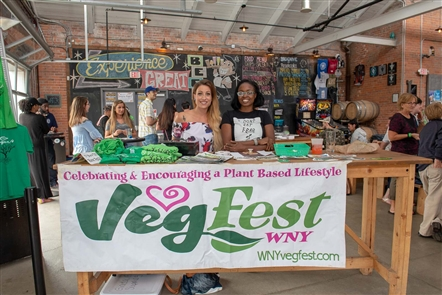 How popular is vegan food? Enough where the WNY Vegfest organizers had to schedule two sessions to accommodate interest in Taste of Vegan, a fundraiser for the annual August event. See who hung out in Resurgence and sampled vegan fare.