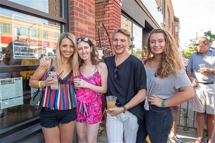 Smiles at Thin Man Summer Solstice Festival on Elmwood