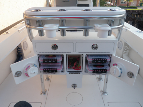 Win A New Custom Tackle Center From Boat Outfitters