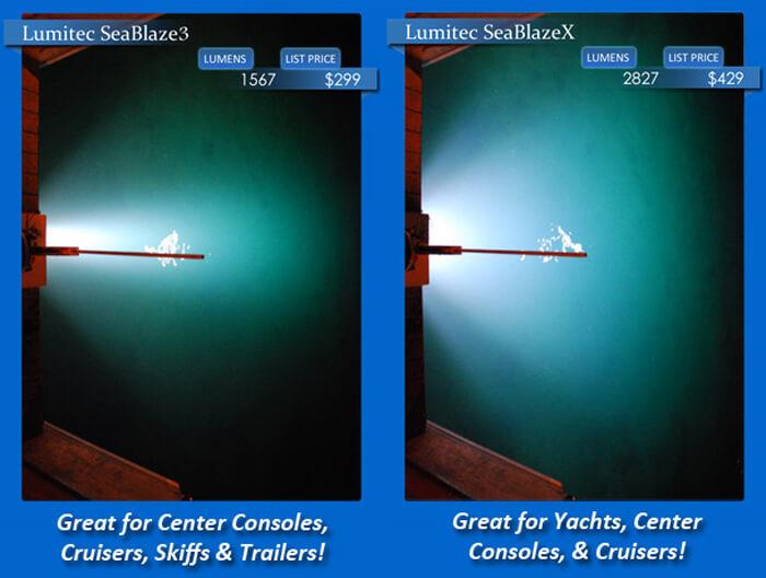 Underwater Lights Comparison