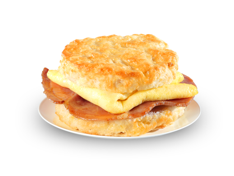 Country Ham and Egg Biscuit - Menu - Bojangles' Famous Chicken 'n ...
