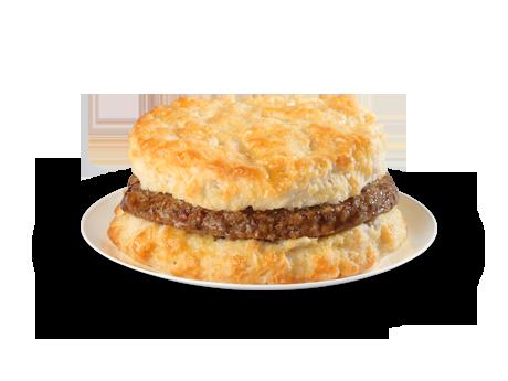 Sausage Biscuit - Menu - Bojangles' Famous Chicken 'n Biscuits