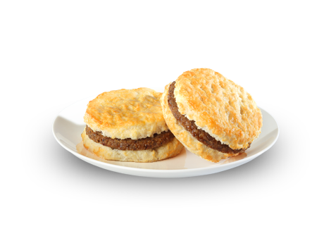 Sausage Biscuits - Menu - Bojangles' Famous Chicken 'n Biscuits