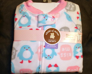 Carters_child_of_mine_blanket_sleeper_penguins_1