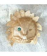 Fabulous Mid Century Modern Rhinestone Leo Lion... - $19.95
