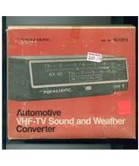 Automotive Converter  VHF-TV Sound & Weather Re... - $30.00