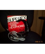 CB Headphones  Superex Citizens Band Model CB-1... - $39.00