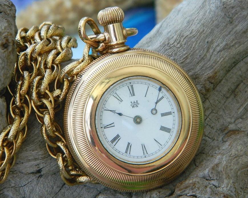 Pocket watch kay jones co worcester 327