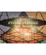 RCOA Stereo Systems Test Record Vinyl  33 1/3 Yorkshire