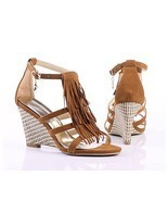 NWT 2011 Women's Wedge Sandals 3.3
