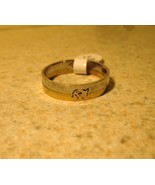 RING MEN WOMEN UNISEX STAINLESS STEEL DOLPHIN B... - $9.99