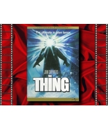 The Thing VHS Movie
