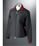 NWT Womens Callaway Golf ZOE Black Zip Jacket S... - $39.99