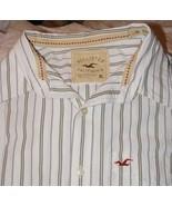 Hollister Mens Button Down Shirt Size X Large  ... - $15.95
