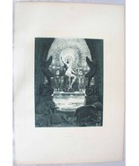 Circe by L. Chalou 1889 Lithograph by Barrie - $99.98